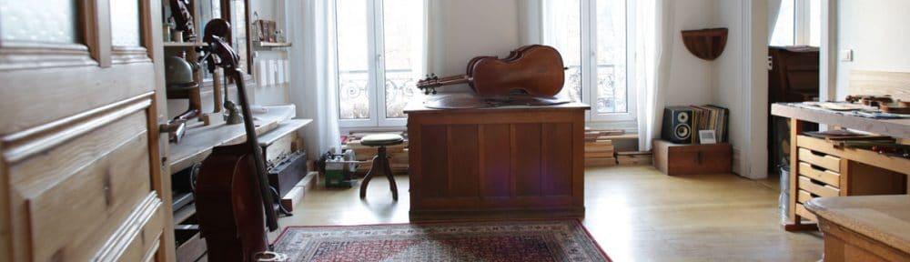 Atelier de lutherie Nathy Thiebaut Arun